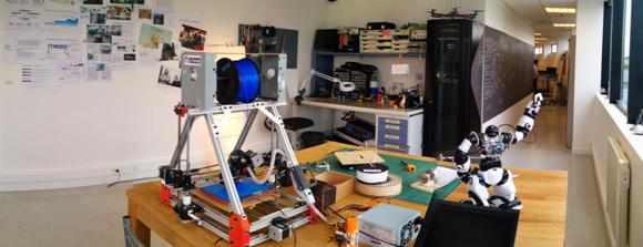Garage des Bell Labs