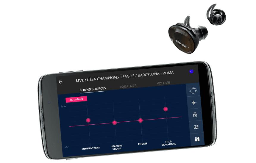 Supralive 5G + BOSE earphones