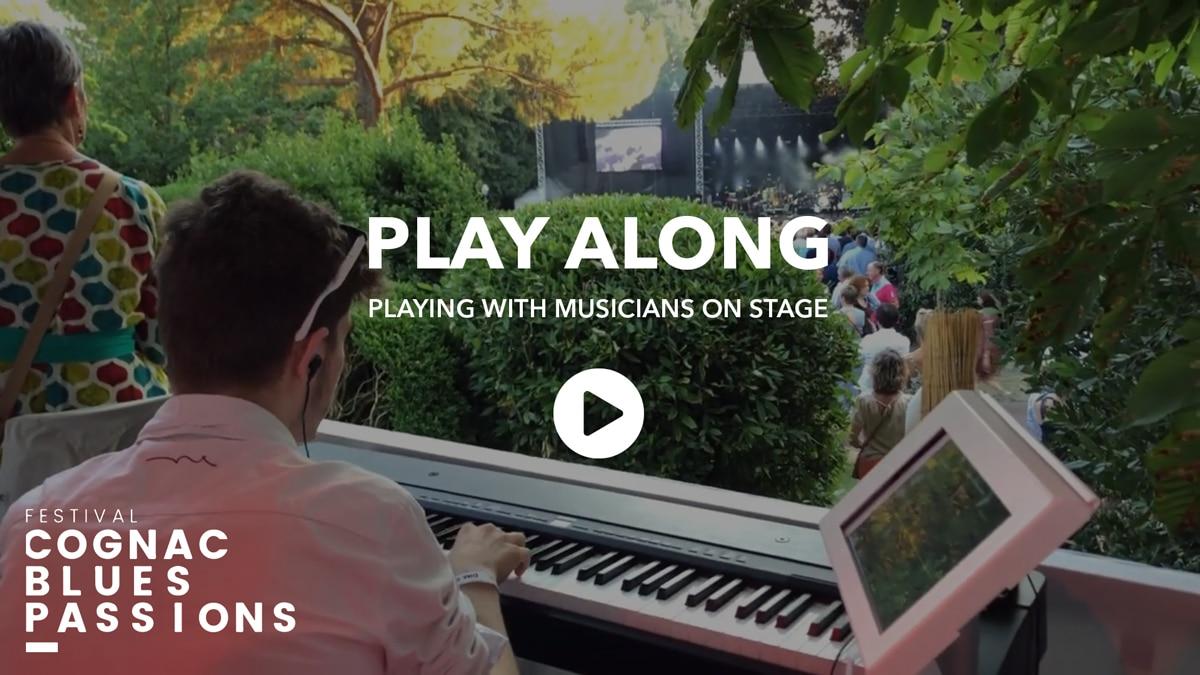 Retour en vidéo sur Play Along par Augmented Acoustics au Cognac Blues Festival